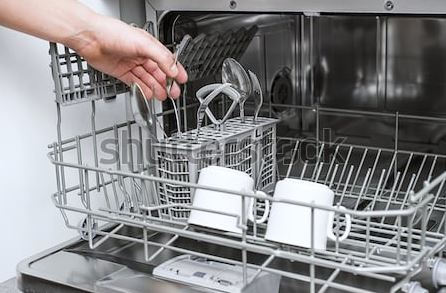 Dishwasher Cleaning at home